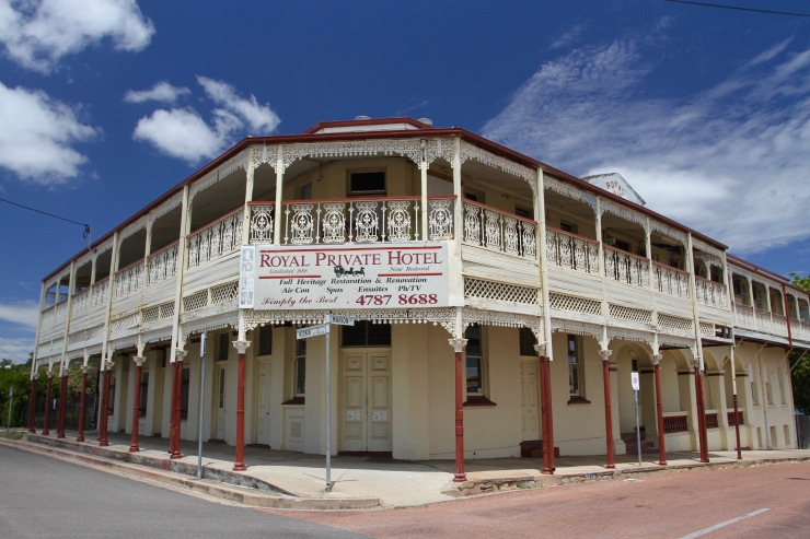 Royal Private Hotel, Charters Towers, Queensland, Australia