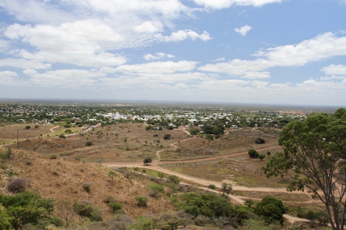 View over Charters Towers, Queensland, Australia