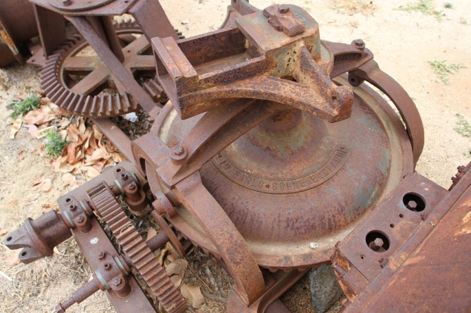 Mining equipment, Charters Towers, Queensland, Australia