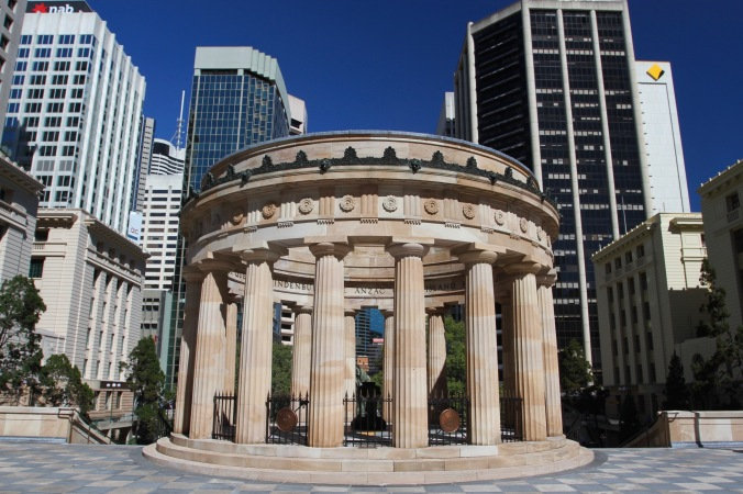 War memorial, Brisbane, Queensland, Australia