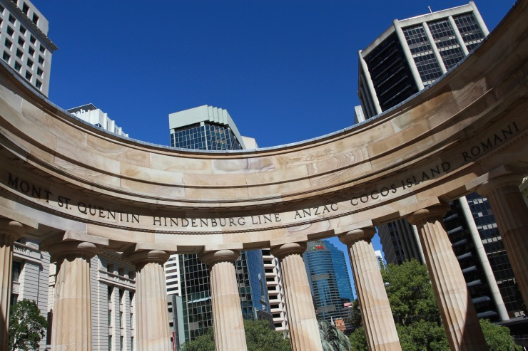 War memorial, Brisbane, Queensland, Australia