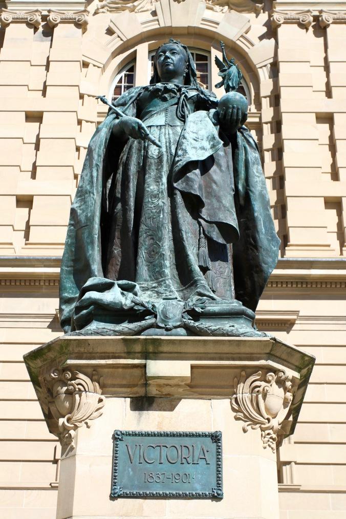 Queen Victoria, Brisbane, Queensland, Australia