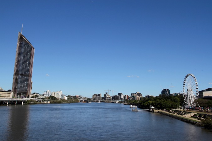Brisbane River, Brisbane, Queensland, Australia