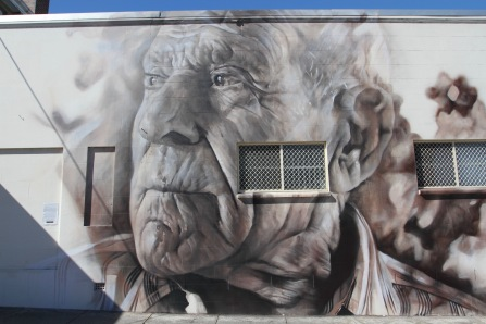 Street art, Stanthorpe, Queensland, Australia