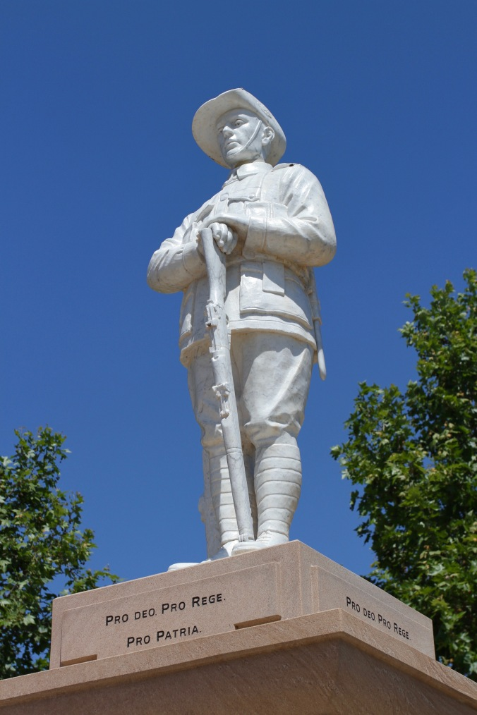 War memorial, Crows Nest, Queensland, Australia
