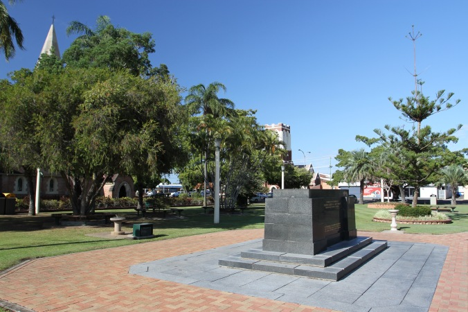 Memorial to Bert Hinkler, Bundaberg, Queensland, Australia