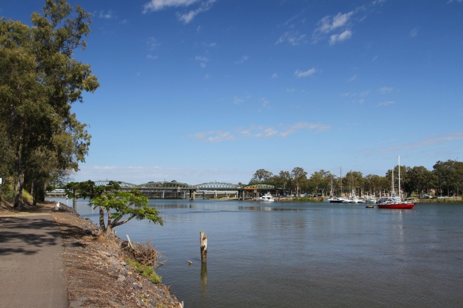 Burnett River, Bundaberg, Queensland, Australia