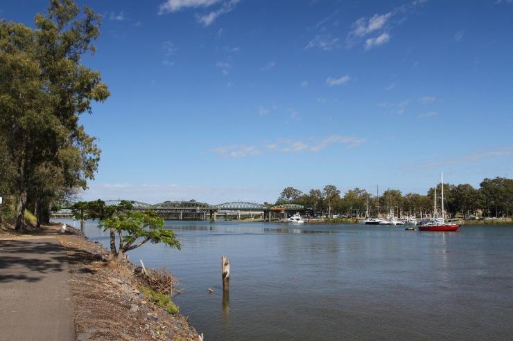Burnett River, Bundaberg, Queensland, Australia