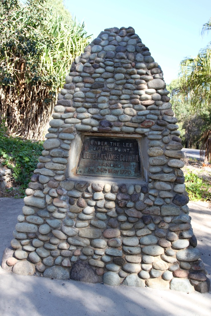 Cook Memorial, Town of Seventeen Seventy, Queensland, Australia