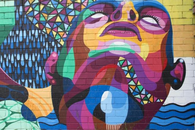 Omega by Beastman & Vans, Street Art, Perth, Western Australia