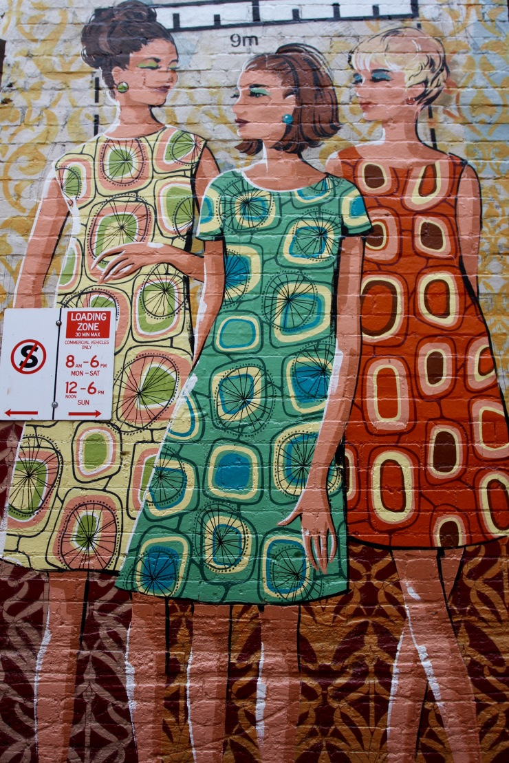 Fashion industry, Street Art, Perth, Western Australia