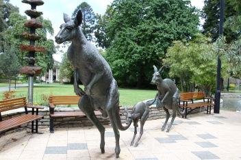 Kangaroo statue, Perth, Western Australia