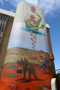 Street art, Northbridge, Perth, Western Australia