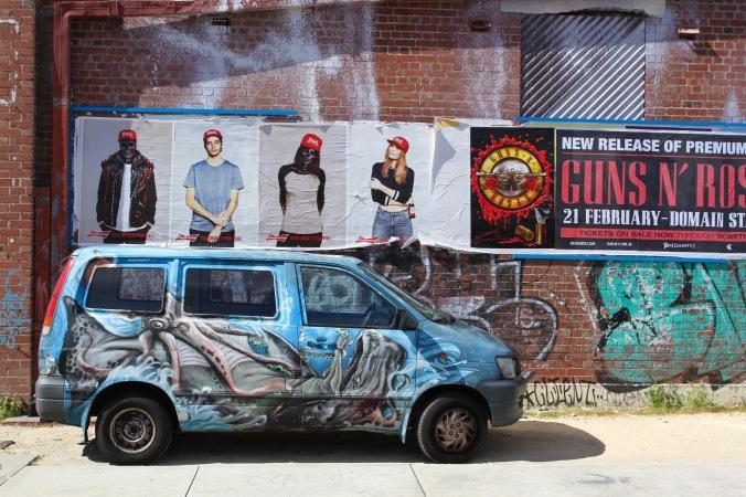 Street art, Fremantle, Western Australia