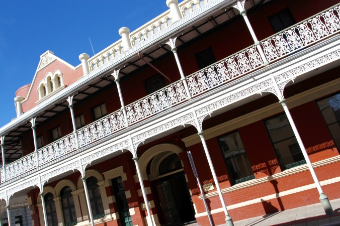 Historic buildings, Fremantle, Western Australia