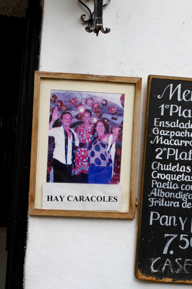 Is that Michelle Obama? Granada, Andalusia, Spain