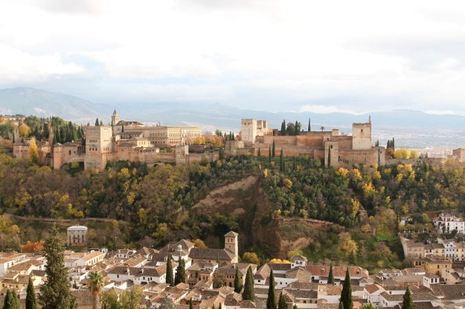 The Alhambra, Granada, Andalusia, Spain