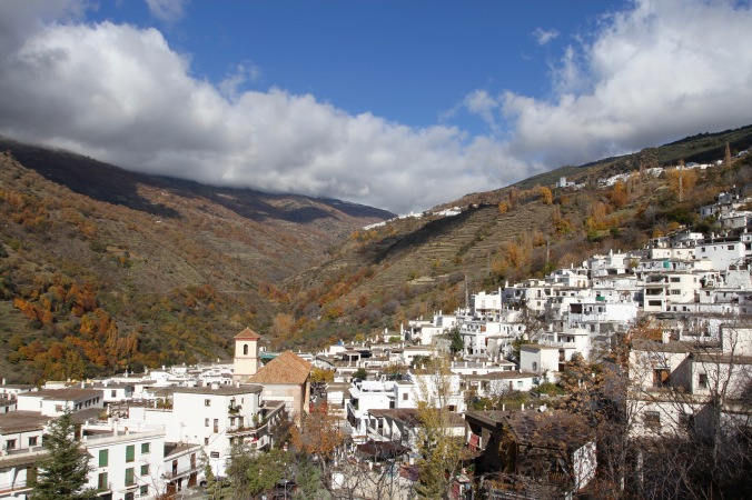 Pueblos Blancos, Sierra Nevada, Andalusia, Spain