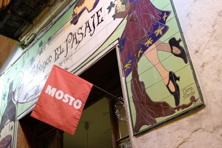 Sherry bar, Jerez de la Frontera, Andalusia, Spain
