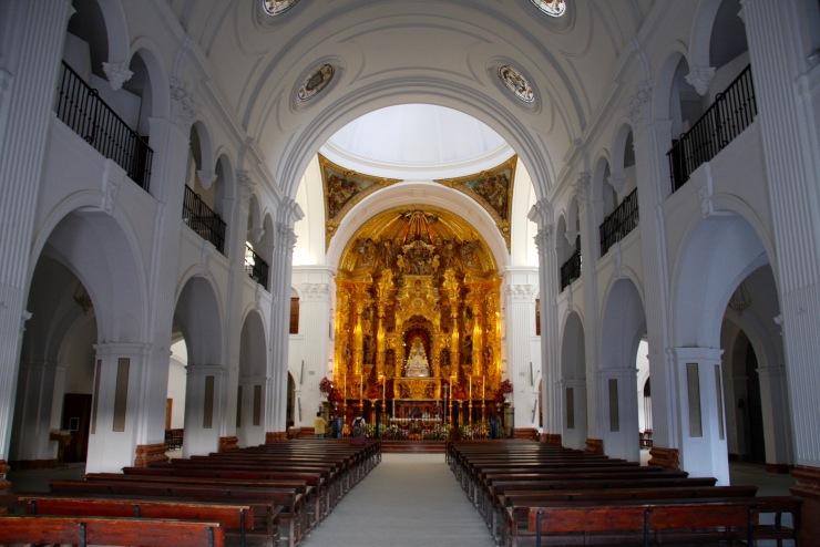 Ermita de Nuestra Señora de El Rocío, El Rocío, Andalusia, Spain