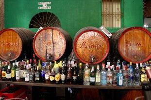 Tapas bar, Seville, Andalusia, Spain