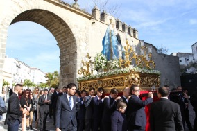 Religious procession, Jerez de la Frontera, Andalusia, Spain