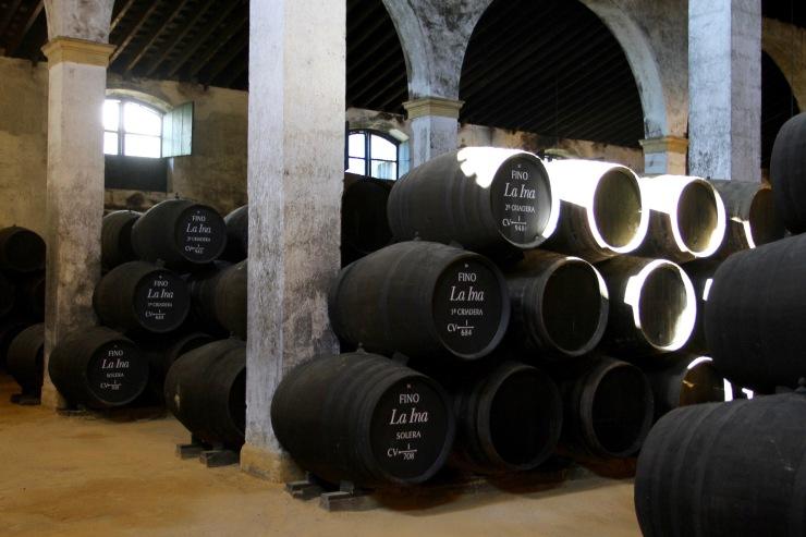 Sherry tasting at Lustau Bodega, Jerez de la Frontera, Spain