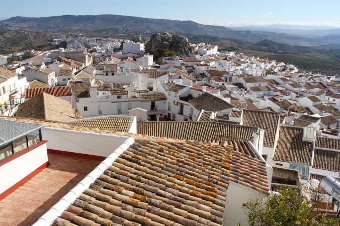 The pueblo blanco of Olvera, Andalusia, Spain