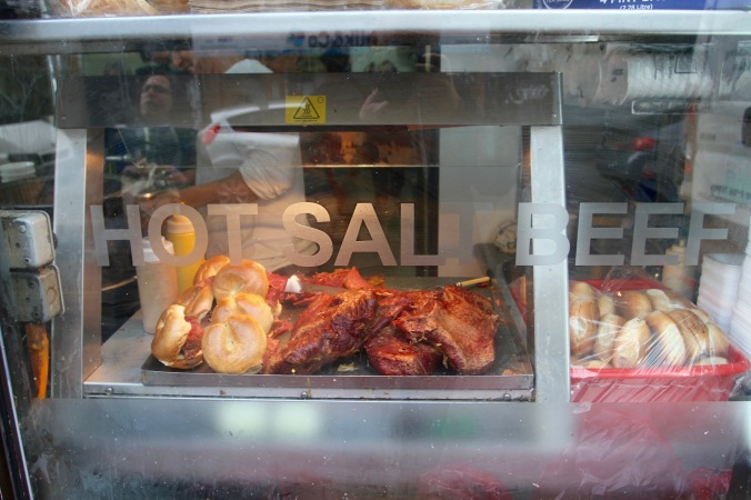 Bagel shop, Brick Lane, London