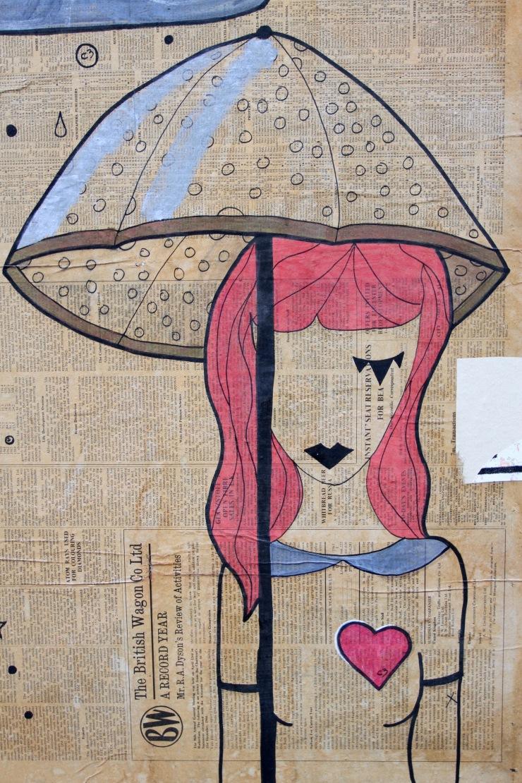 Street art, East End, London