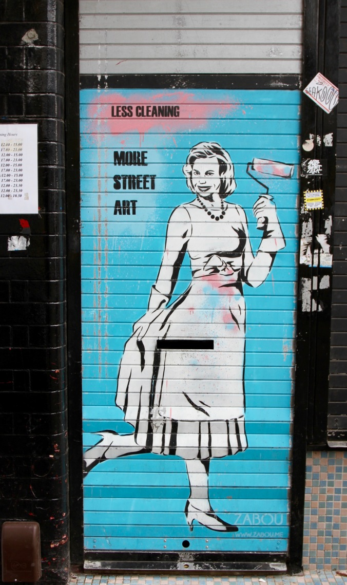 Street art, East End, London