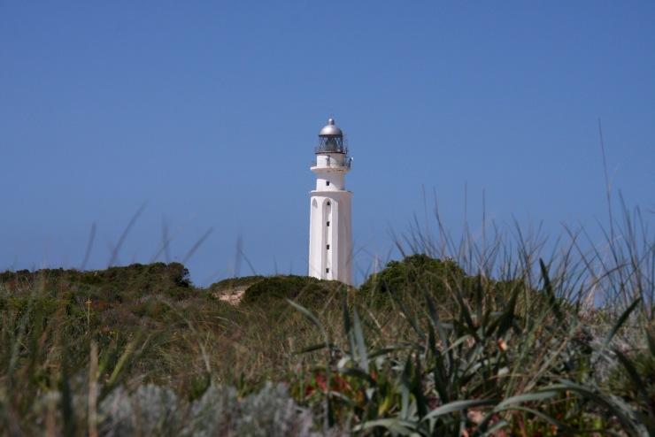 Lighthouse, Cape Trafalgar, Costa de la Luz, Andalusia, Spain