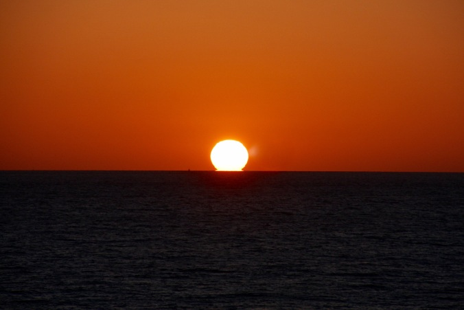 Sunset, Cape Trafalgar, Costa de la Luz, Andalusia, Spain