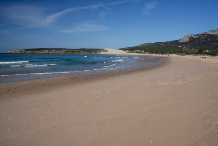 Playa de Bolonia, Costa de la Luz, Andalusia, Spain