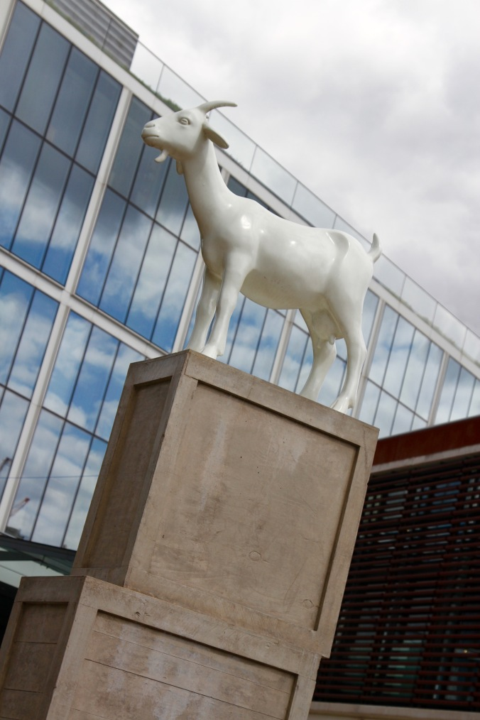 Goat statue, City of London, London