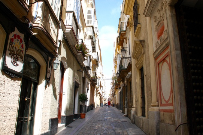 Streets of Cadiz, Andalusia, Spain