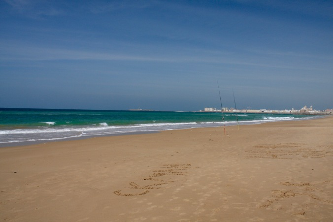 Beaches near Cadiz, Andalusia, Spain