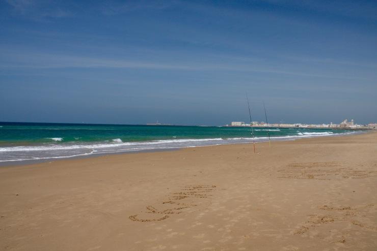 Beaches near Cadiz, Andalusia, Spain