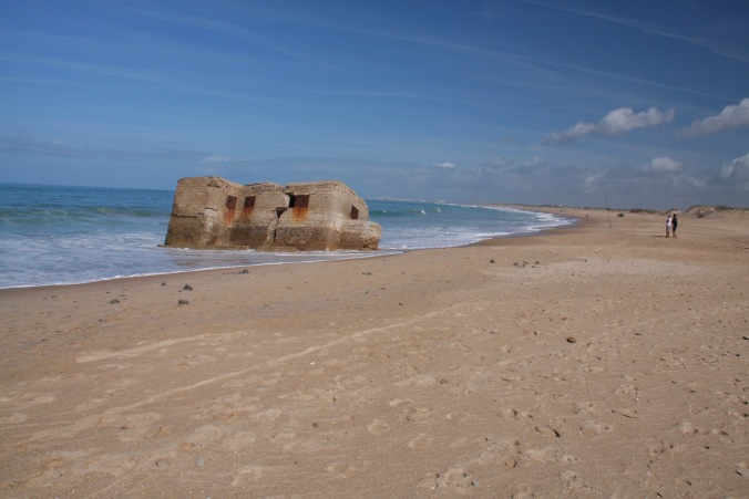 Bunker, Parque Natural Bahía de Cadiz, Costa de la Luz, Spain