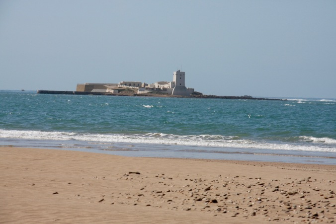 Castle of Sancti Petri, Parque Natural Bahía de Cadiz, Costa de la Luz, Spain