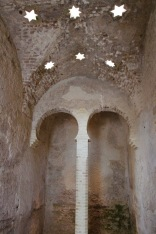 Arabic baths, Alcázar, Jerez de la Frontera, Andalusia, Spain