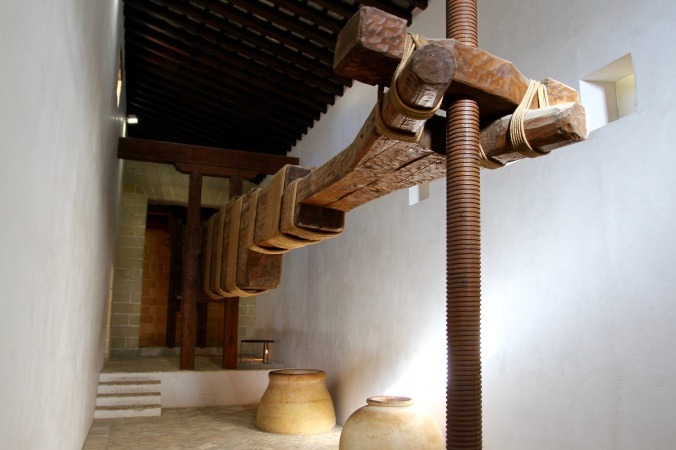 Olive press, Alcázar, Jerez de la Frontera, Andalusia, Spain