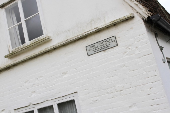 Site of Constable's first studio, East Bergholt, Suffolk