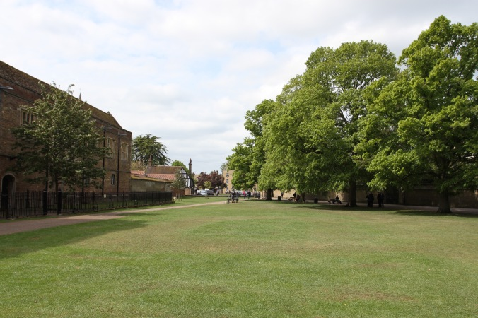 Palace Green, Ely, Cambridgeshire