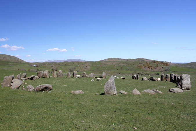 Swinside Stone Circle, Millom, Cumbria