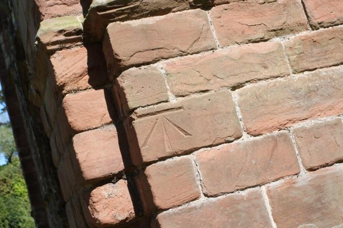Mason's mark, Furness Abbey, Cumbria