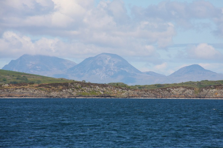 Paps of Jura and Isle of Gigha, Scotland