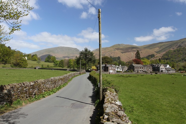 Grasmere village, Lake District National Park, Cumbria