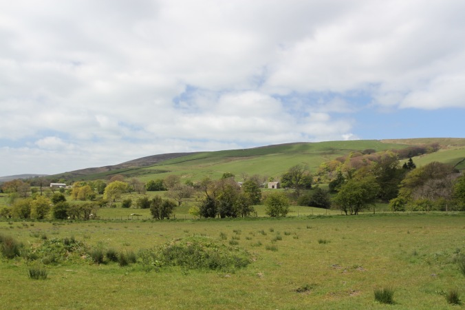 Countryside around Pendle Hill, Lancashire