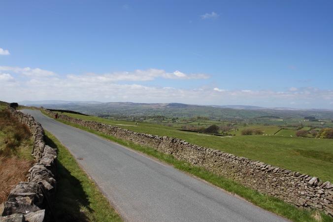 Countryside around Pendle Hill, Lancashire
